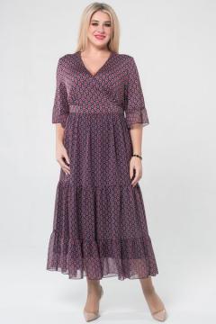 "Платье ""Luxury Plus"" 1076 (Темно-синий)"