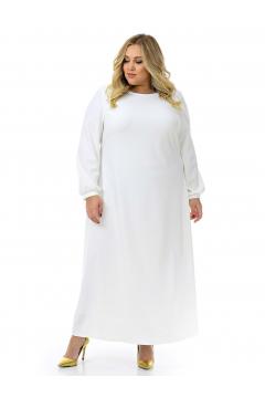 """Платье """"ЛаТэ"""" 2129807 (Белый)"""