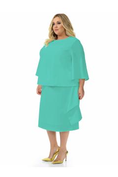 """Платье - костюм """"ЛаТэ"""" 2131208 (Ментоловый)"""