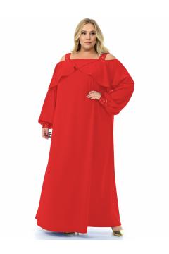 """Платье """"ЛаТэ"""" 2129505 (Красный)"""