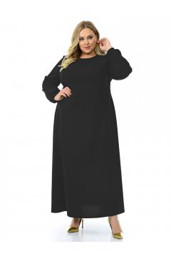 """Платье """"ЛаТэ"""" 2129801 (Черный)"""