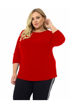 """Блуза """"ЛаТэ"""" 2120118 (Красный)"""