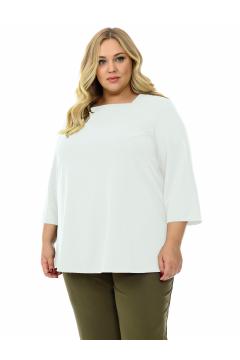 """Блуза """"ЛаТэ"""" 2130107 (Белый)"""