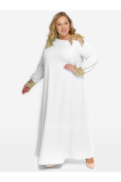 """Платье """"ЛаТэ"""" 2123205 (Белый)"""