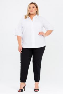 """Рубашка """"Лаос"""" (Белый с принтом)"""