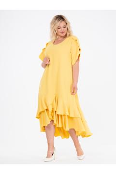 """Платье """"ЛайтСкай"""" (Желтый)"""