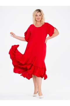 """Платье """"ЛайтСкай"""" (Красный)"""