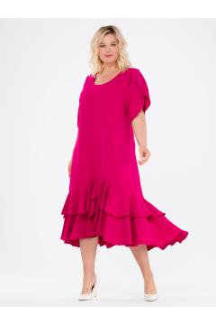 """Платье """"ЛайтСкай"""" (Ярко-розовый)"""