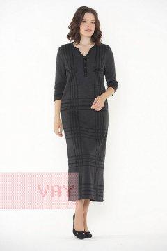 Платье женское 2284 (Черный/графит)