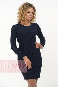 Платье женское 2304 (Темно-синий)