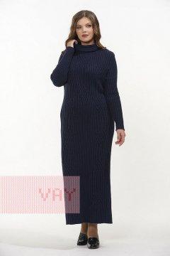Платье женское 2311 (Темно-синий)