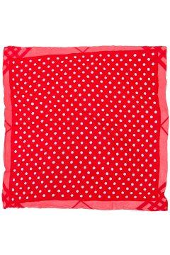 Платок красный в белый горох FC 311-3702