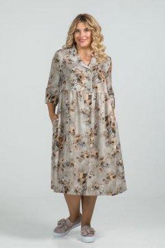 Платье 947 (Бежевый)