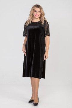 """Платье """"Luxury Plus"""" 1009 (Черный)"""