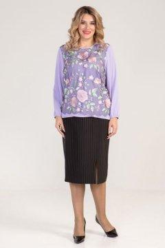 "Блузка ""Luxury Plus"" 995 (Фиолетовый)"