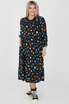 "Платье ""Luxury Plus"" 1206 (Темно-синий)"