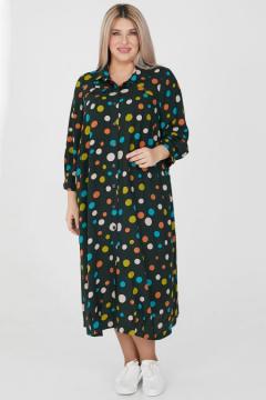 "Платье ""Luxury Plus"" 1206 (Темно-зеленый)"