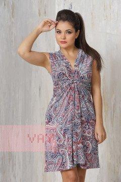Платье женское 3205 (Мозайка голубой)