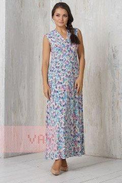 Платье женское 3283 (Акварель фуксия)