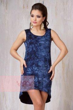 Платье женское 3288 (Варенка темно-синий)