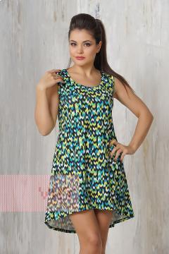 Платье женское 3303 (Палитра зеленый)