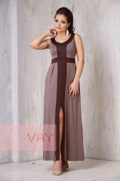 Платье женское 3305 (Латте/коричневый)