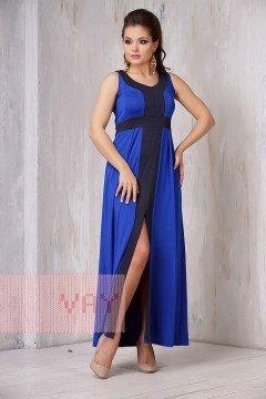 Платье женское 3305 (Василек/темно-синий)