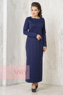 Платье женское 3327 (Синяя ночь)