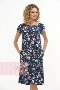 Платье женское 3395 (Незабудки)