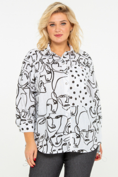"Рубашка ""Шаганэ"" (Черный)"