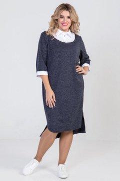 Платье 939 (Темно-синий)