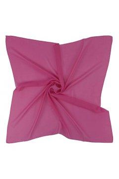 Платок темно-розовый 54 S-4590