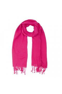 Ярко-розовый палантин