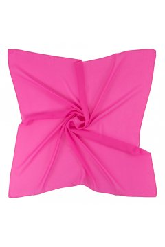 Платок ярко-розовый 54 S 120