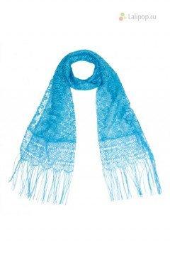 Шарф голубой C 838 5