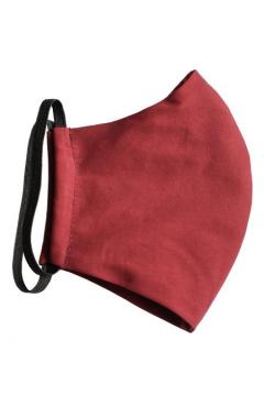 Набор защитных масок 0010 5 шт. (Бордовый)