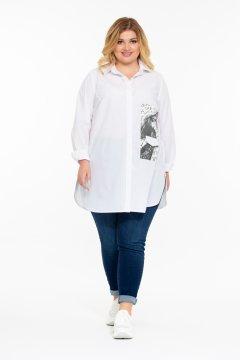 """Рубашка """"Готаш"""" (Белый)"""