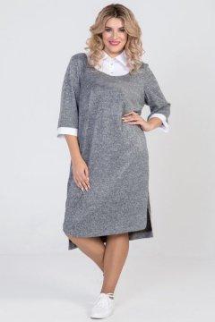 Платье 939 (Темно-серый)