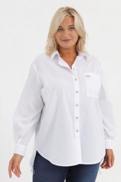 """Блуза """"Инесса"""" (Белый)"""
