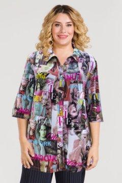 Рубашка 818 (Розовый)