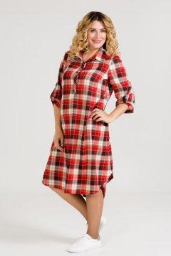 Платье 951 (Красный)