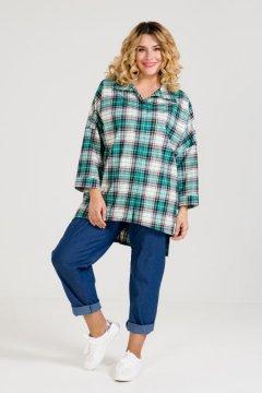 Рубашка 972 (Зеленый)
