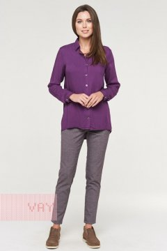 Блуза женская 192-3570 (Сливовый)