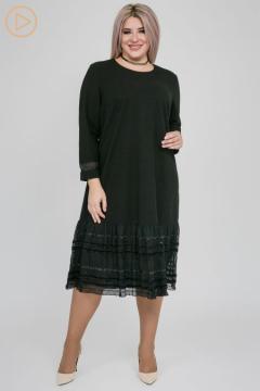 """Платье """"Luxury Plus"""" 1153 (Черный)"""