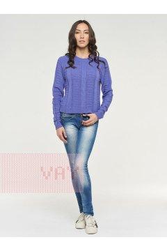 """Джемпер """"Фемина"""" 192-4075 (30852 фиолетовый)"""