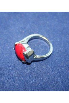 """Кольцо красное """"Красное яичко"""" (Коралл)"""