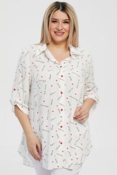 """Рубашка """"Luxury Plus"""" 1212 (Белый)"""