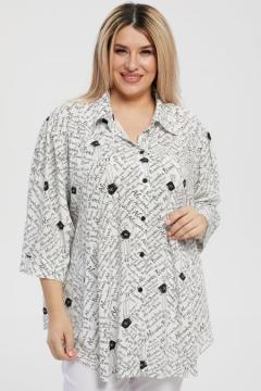 """Рубашка """"Luxury Plus"""" 1218 (Белый)"""