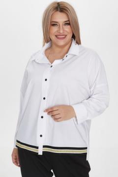 """Рубашка """"Luxury Plus"""" 1224 (Белый)"""
