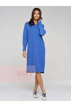 Платье женское 192-2424 (18-3945 звездная пыль)